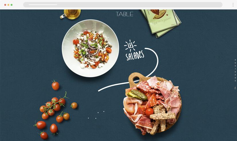 website design idea: big images - example 2