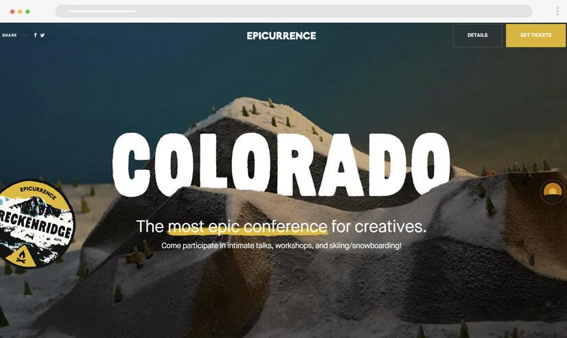 website design idea: big images - example 4