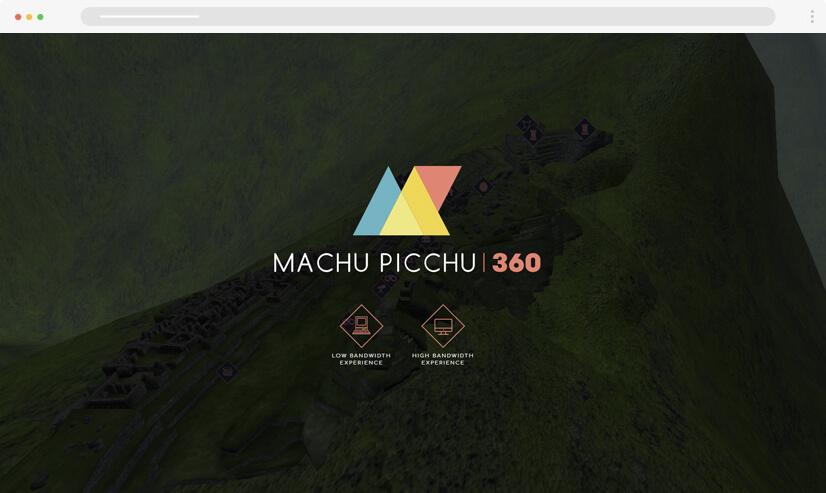website design idea: virtual reality example 1