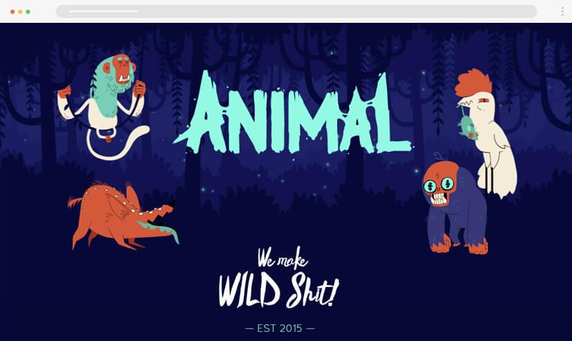 website design idea: micro animations in web design example 3
