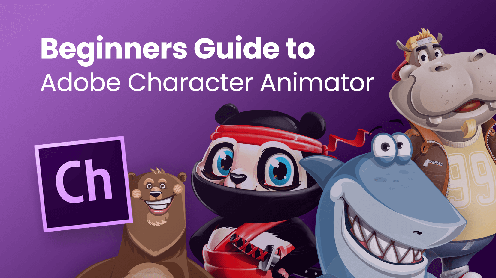 Beginners Guide to Adobe Character Animator