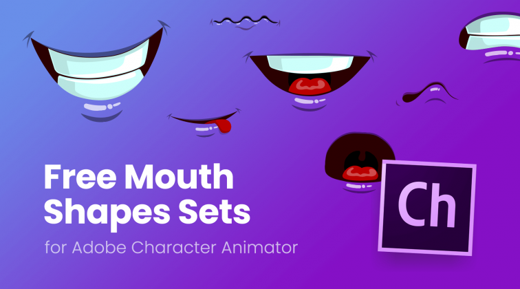 Free Mouth Shapes Sets for Adobe Character Animator