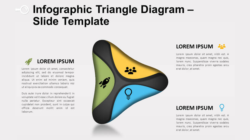 Infographic Triangle Diagram - Powerpoint and Google Slides
