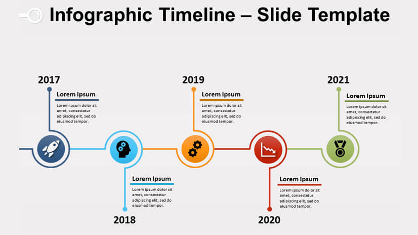 Infographic Timeline Powerpoint and Google Slides