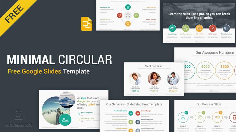 Free Minimal Google Slides Template
