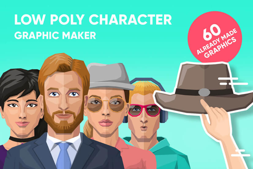Low Poly Characters Maker