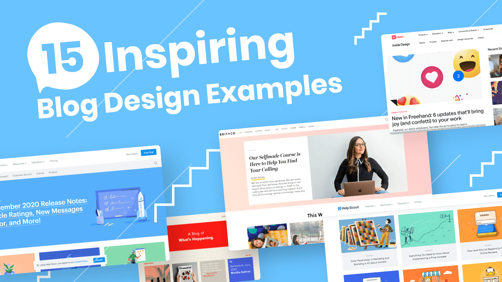 15 Inspiring Blog Design Examples