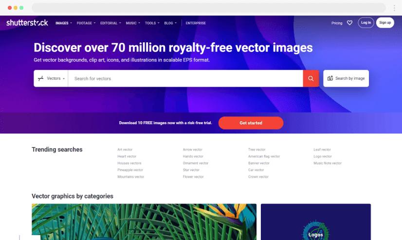 Shutterstock stock graphics