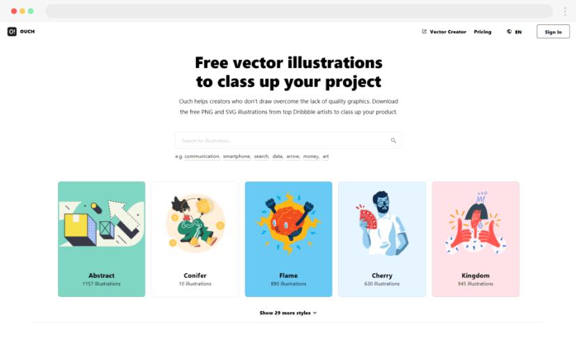 Icons8 stock illustrations
