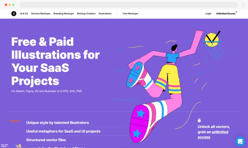 ls.graphics stock website
