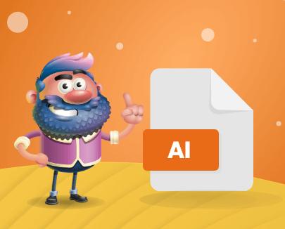 Adobe Illustrator vector image file format