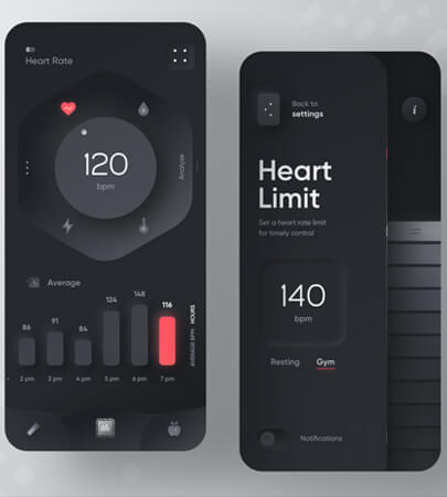 Fitness App Mobile Design for 2021