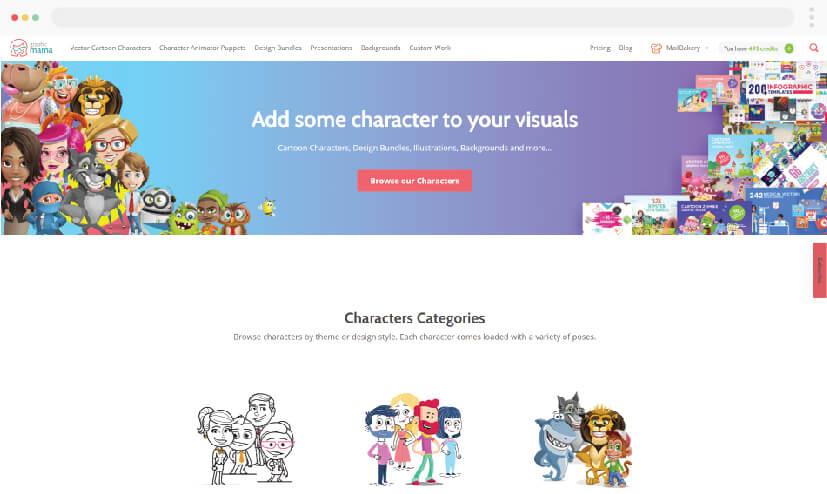 GraphicMama Custom Illustrations