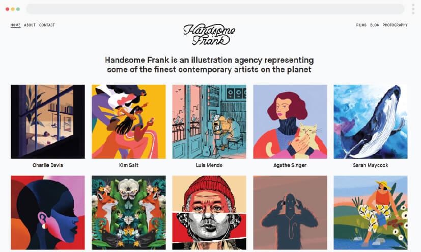HandsomeFrank illustration studio
