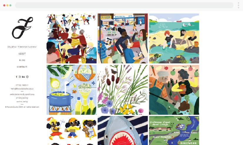 Foxcubstudio illustrations