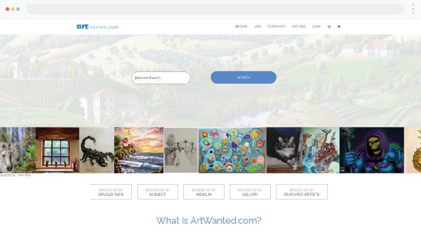 Artwanted - artist illustrations