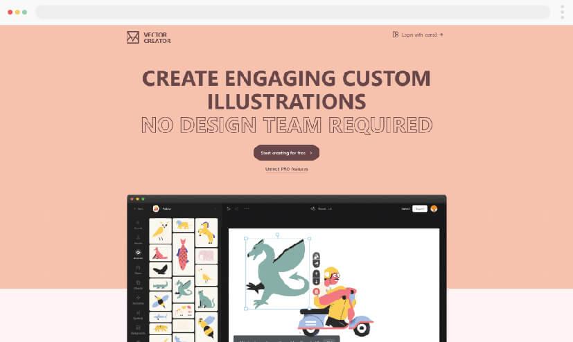 Icons8 Vector Illustrations Creator