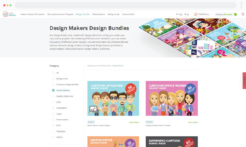 GraphicMama Illustrations and Design Makers