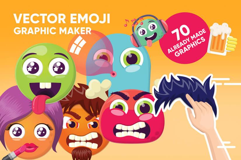 Vector Emoji Creator