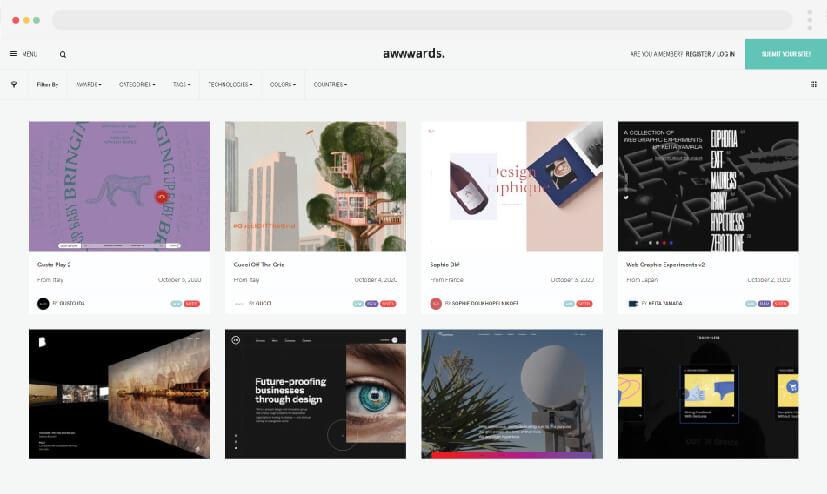 5  ideas para hacer sitios web  Awwwards