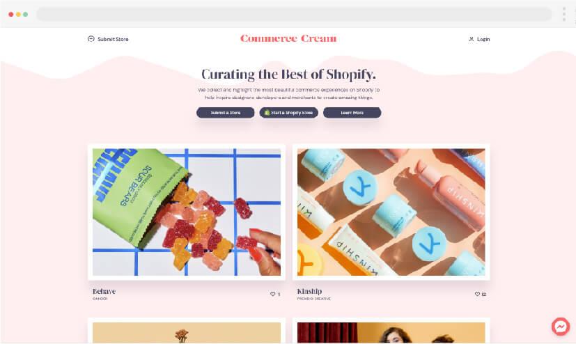 11 Crema de comercio ideas para hacer sitios web