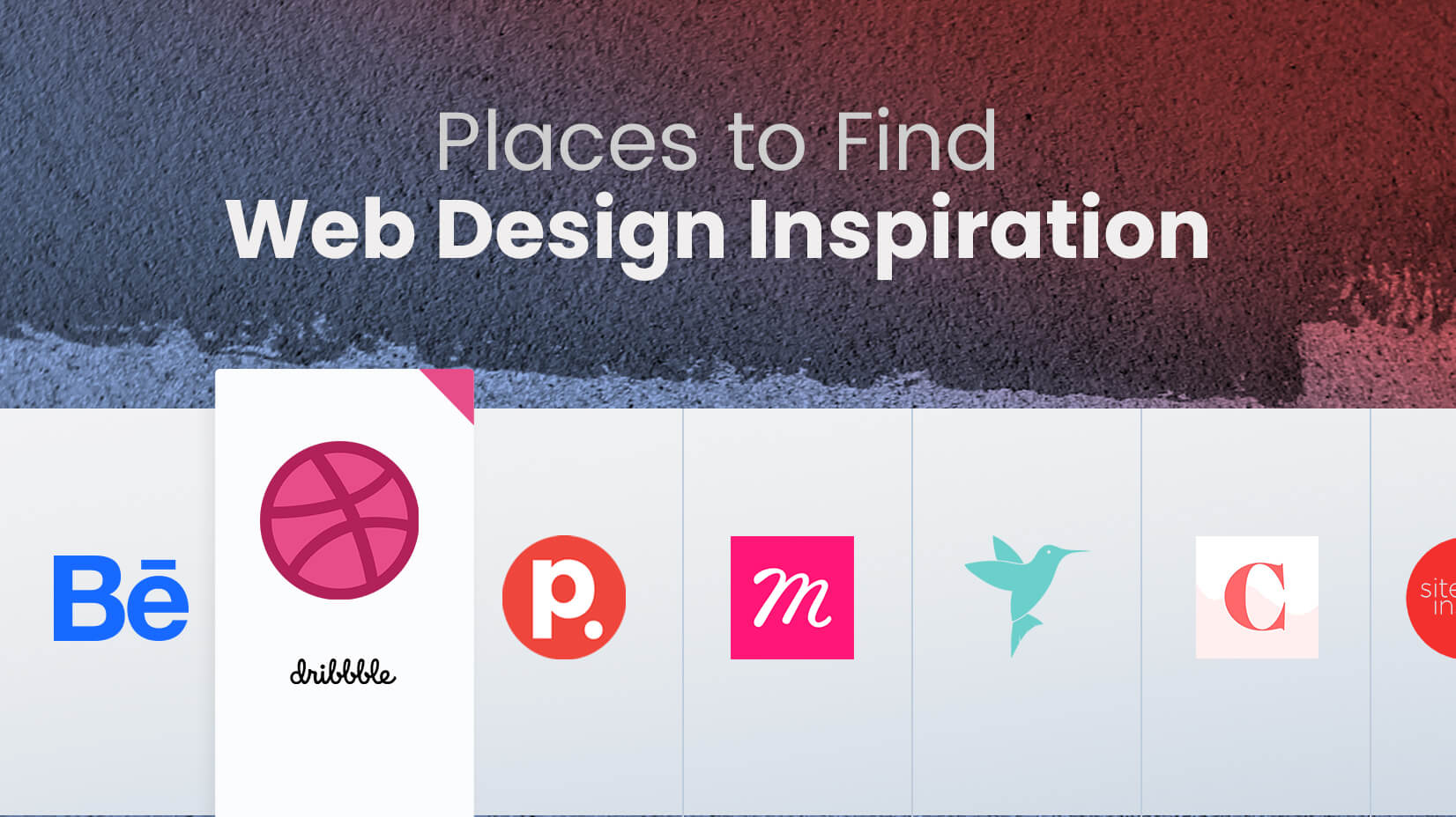 Best Places Where you Can Find Web Design Inspiration