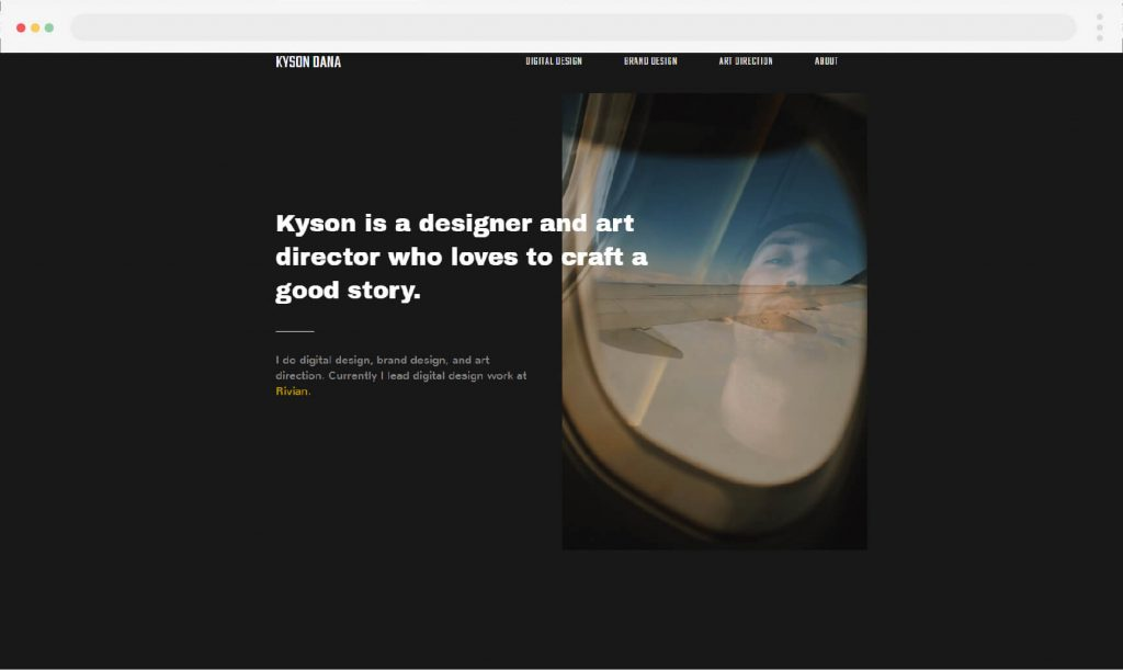 6. Kyson Dana portfolio