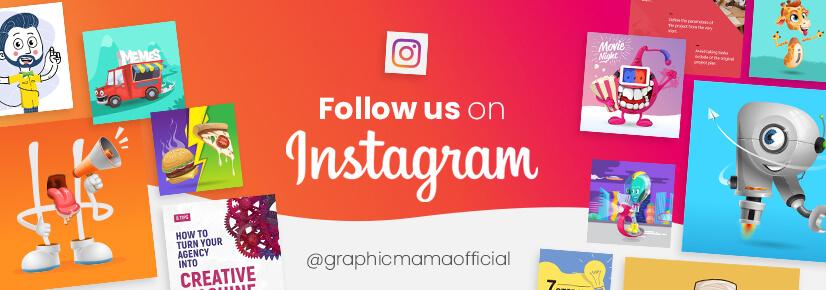 Follow GraphicMama on Instagram