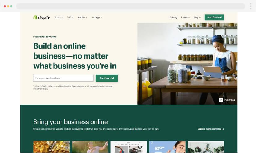 Shopify 2021
