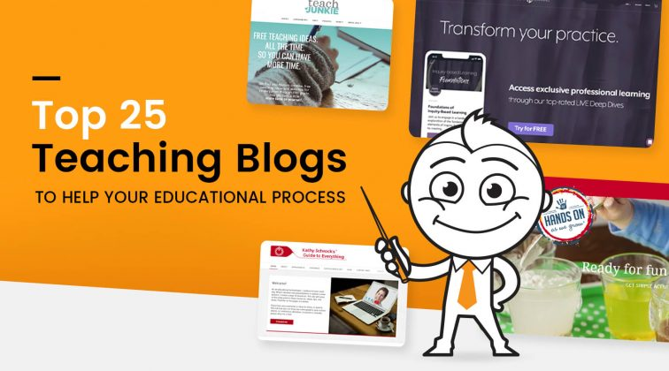 Top 25 Teaching Blogs To Help Your Educational Process