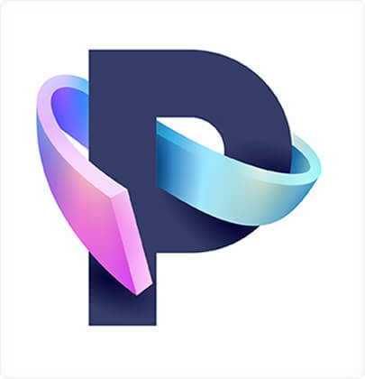 P - Amazing 3D logo design concept in 2021