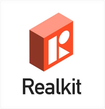 Realkit - Amazing Isometric 3D logo design