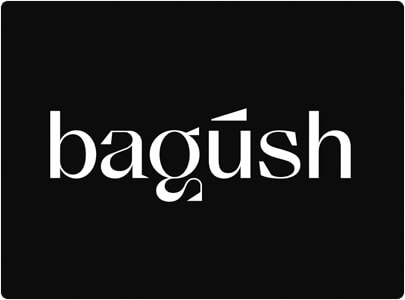 Bagush Elegant Wordmark Logo Design in 2021