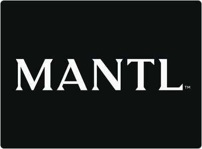 Mantl logo design with wordmark