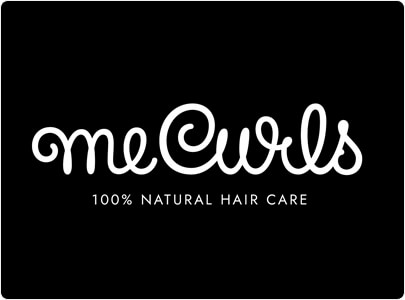 MeCurls Wordmark Logo Design in 2021