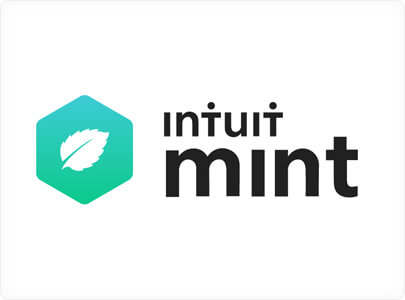 Intuit Mint branding logo design with green bio inspiration in 2021