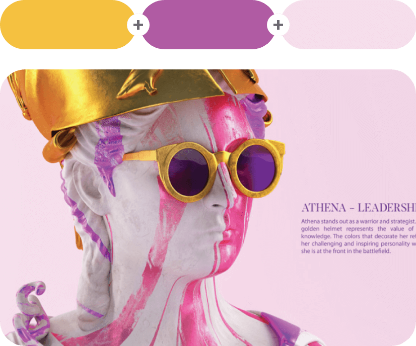 Saffron +Tapestry +Amour Color Combination