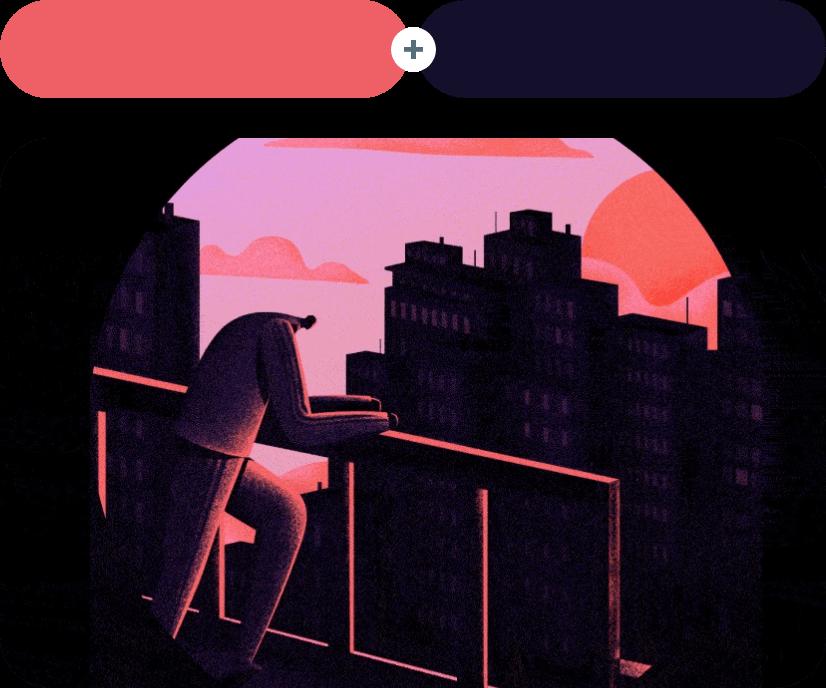Burnt Sienna +Ebony Color Combination