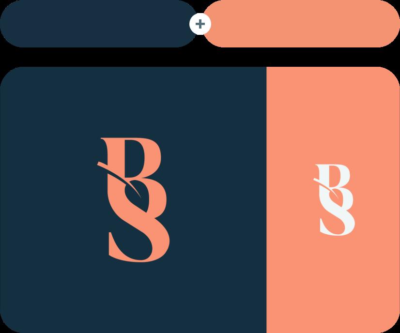 Big Stone +Sandy Brown Color Combination