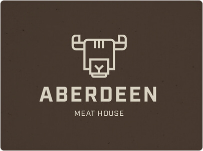 ABERDEEN Logo Design With Geometric Style - Trend in 2021