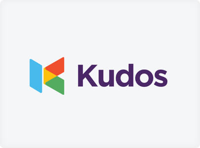 Kudos - Logo design trend example in 2021