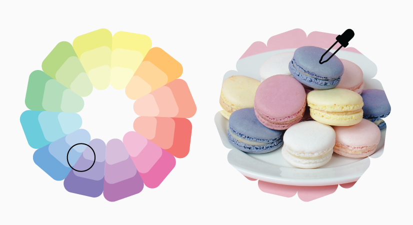 pastel colors brief theory