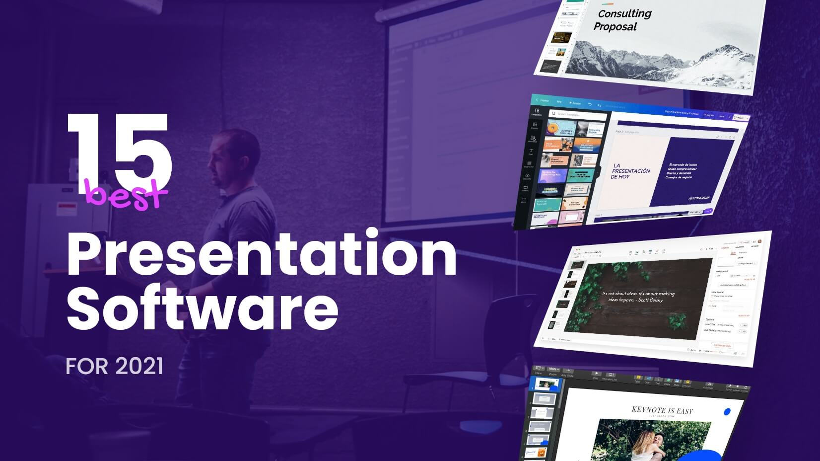 The Best Presentation Software for 2021