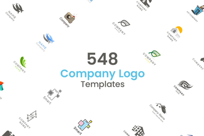 500 Company Logo Templates Bundle