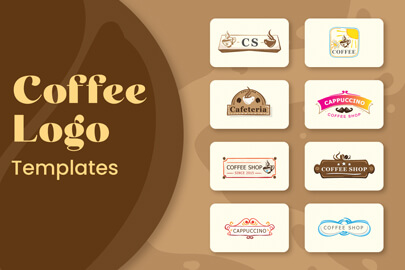 Coffee Logo Templates Bundle