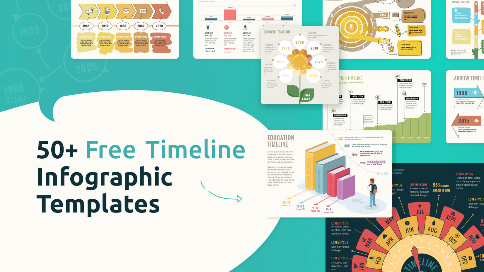 50 Free Infographic Templates