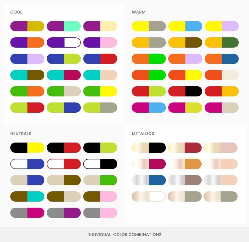 individual color combination