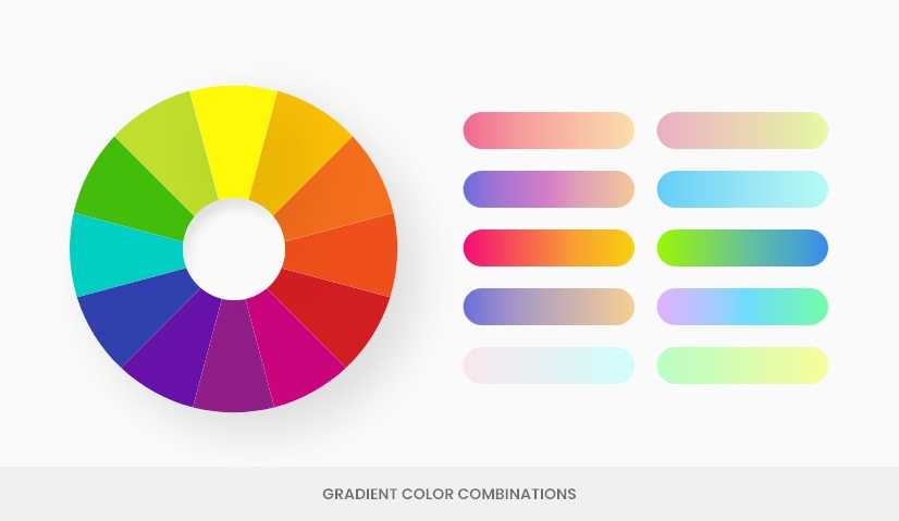 color theory gradients