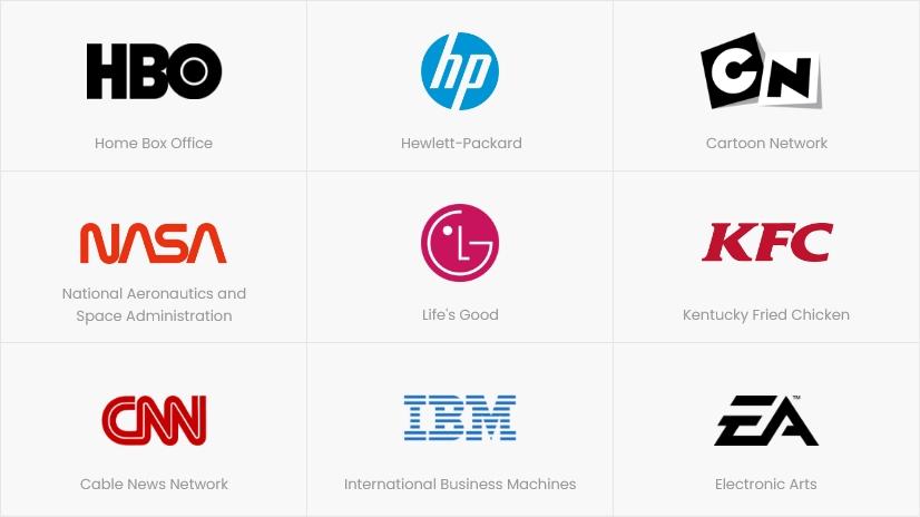 Types of Logos: Monogram / Lettermark