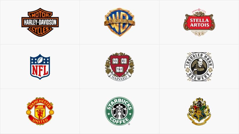 Types of Logos: Emblem